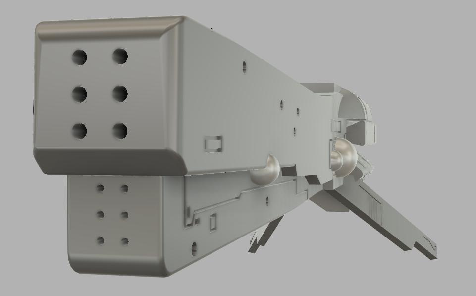 【Fusion練習】 某アニメの帝国軍 高速戦艦の模写 ※ちょっと今日は手抜きかな・・・^^;